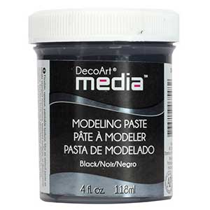 DecoArt Media Modeling Paste - Black