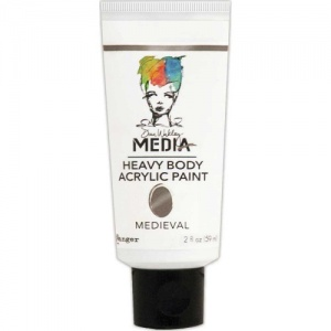Dina Wakley Media Heavy Body Acrylic Paint - Medieval