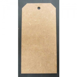 That's Crafty! Surfaces MDF Tags - Pack of 12 - #3