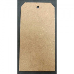 That's Crafty! Surfaces MDF Tags - Pack of 6 - #8