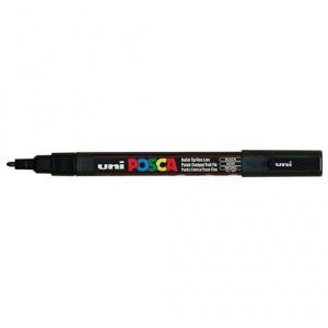 Posca Marker Pen - PC-3M Fine - Black