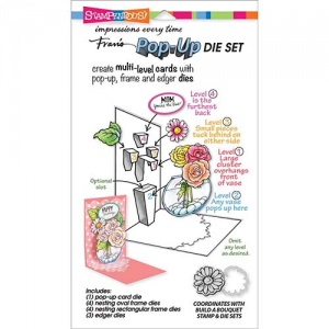 STAMPENDOUS! Die Cut Set - Pop Up