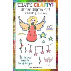 That's Crafty! Clear Stamp Set - Christmas Collection - Set 1