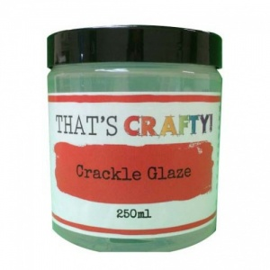 That's Crafty! Crackle Glaze