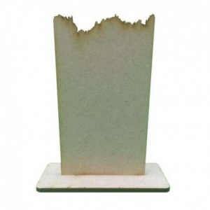 That's Crafty! Surfaces Dinky MDF Uprights - Jagged Edge - Pack of 5