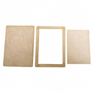 That's Crafty! Surfaces MDF ATCS, Frames and Inserts  - Pack of 5