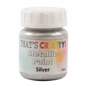 That's Crafty! Metallic Paint - Silver