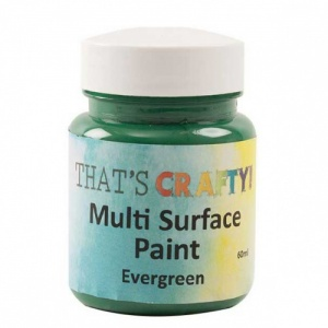 That's Crafty! Multi Surface Paint - Evergreen