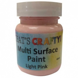 That's Crafty! Multi Surface Paint - Light Pink