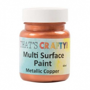 That's Crafty! Multi Surface Paint - Metallic Copper