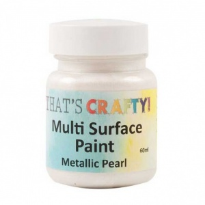 That's Crafty! Multi Surface Paint - Metallic Pearl