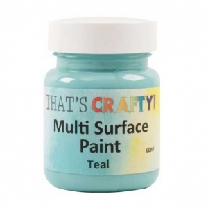 That's Crafty! Multi Surface Paint - Teal
