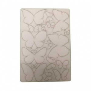 That's Crafty! Surfaces Bits and Pieces Greyboard Sheet - Large Butterflies
