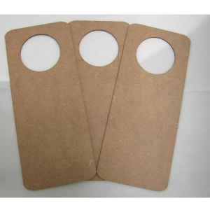 That's Crafty! Surfaces MDF Door Hangers - Style 1 - Pack of 3