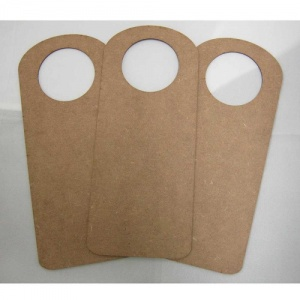 That's Crafty! Surfaces MDF Door Hangers - Style 3 - Pack of 3