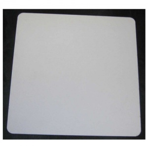 That's Crafty! Surfaces White/Greyboard Panels - 6x6 - Rounded Corners - Pack of 5