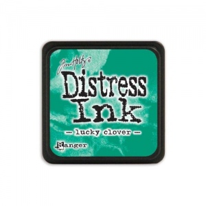 Tim Holtz Mini Distress Ink Pad - Lucky Clover