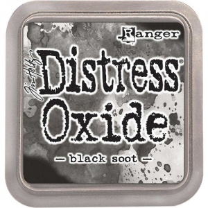 Tim Holtz Distress Distress Oxide Ink Pad - Black Soot