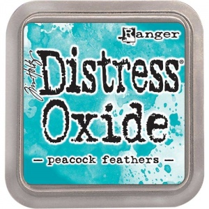 Tim Holtz Distress Distress Oxide Ink Pad - Peacock Feathers