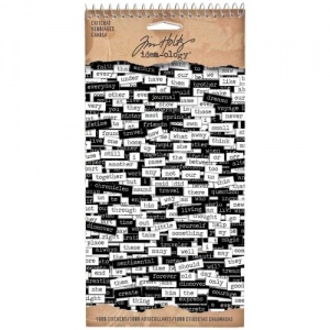 Tim Holtz Idea-ology Chitchat Stickers