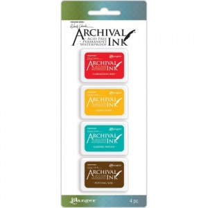 Ranger Wendy Wecchi Mini Archival Ink Pad Set - Set 1