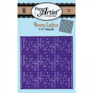 Hot Off The Press Paper Artist Cutting Die - Woven Lattice
