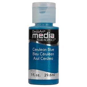 Znalezione obrazy dla zapytania DecoArt Media Cerulean Blue