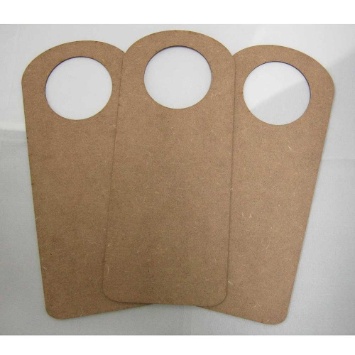 Surfaces MDF Door Hangers - Style 3 - Pack ... & Thatu0027s Crafty! Surfaces MDF Door Hangers - Style 3 - Pack of 3 ... pezcame.com