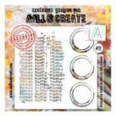 AALL and Create Stencil #22