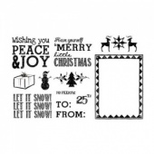 Artistic Outpost Stamp Set - Christmas Chalk