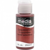 DecoArt Media Fluid Acrylic Paint - Quinacridone Gold