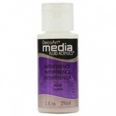 DecoArt Media Fluid Acrylic Paint - Violet Interference