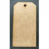 That's Crafty! Surfaces MDF Tags - Pack of 12 - #1
