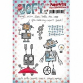 PaperArtsy Cling Mounted JOFY Collection Stamp Set - JOFY 44
