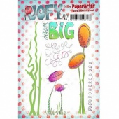 PaperArtsy Cling Mounted JOFY Collection Stamp Set - JOFY 60