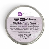 Prima Finnabair Art Alchemy Opal Magic Wax - Blue Velvet