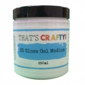 That's Crafty! 3D Gloss Gel Medium