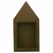 That's Crafty! Surfaces Dinky Art Shrine - House - Pack of 3