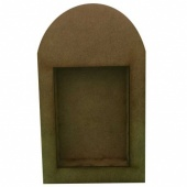 That's Crafty! Surfaces Dinky Art Shrine - Round Top - Pack of 3