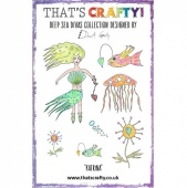 That's Crafty! Clear Stamp Set - Deep Sea Divas Collection - Katrina