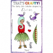 That's Crafty! Clear Stamp Set - The Quirky Girls Collection - Fern
