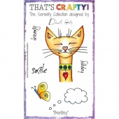 That's Crafty! Clear Stamp Set - The Serenity Collection - Bentley