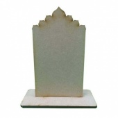 That's Crafty! Surfaces MDF Uprights - Decorative Top - Pack of 5