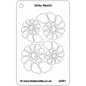 That's Crafty! Dinky Stencil - Fossil - TC081