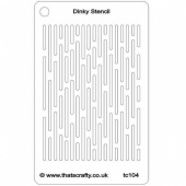 That's Crafty! Dinky Stencil - Lines - TC104
