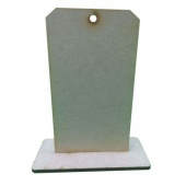 That's Crafty! Surfaces MDF Uprights - Tag - Pack of 5
