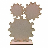 That's Crafty! Surfaces MDF Uprights - Cogs - Pack of 5