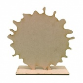 That's Crafty! Surfaces MDF Uprights - Splat - Pack of 5