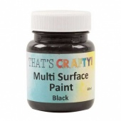 That's Crafty! Multi Surface Paint - Black