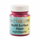 That's Crafty! Multi Surface Paint - Bright Magenta